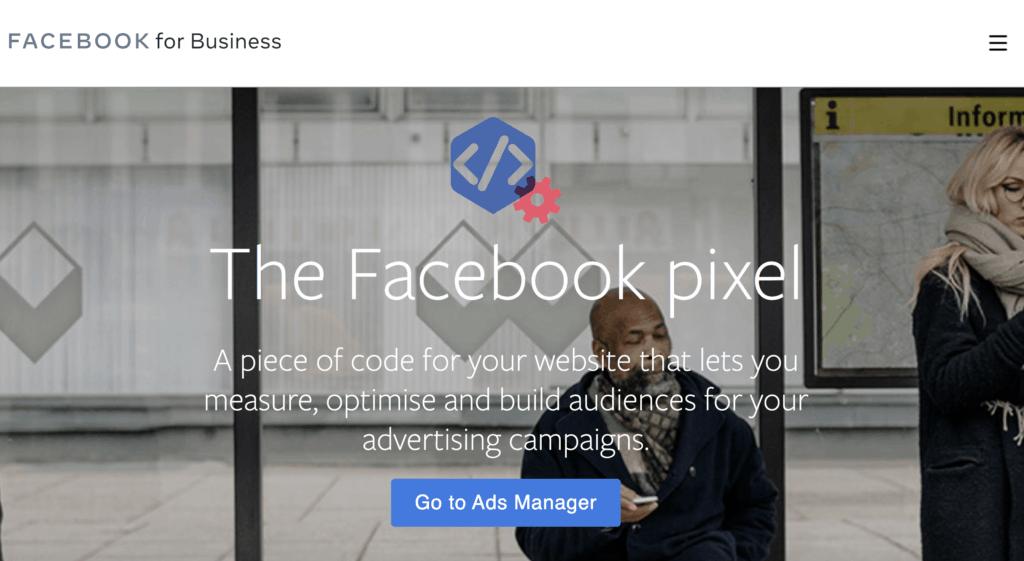 Facebook Pixel Landing Page
